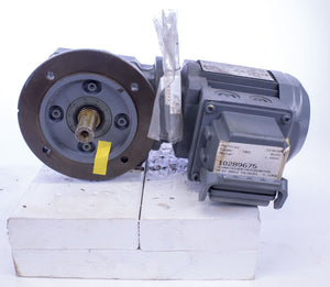 Sew-Eurodrive SF37 DR63S4/ASD1 AC motor and right angle gearbox
