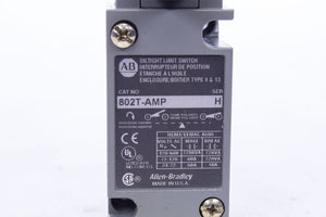 AB Allen-Bradley Oiltight Limit Switch 802t-AMP Series H