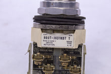 Load image into Gallery viewer, AB Allen Bradley 800T-J631KD7 Series T OPERATOR KEYED 3POS SPRING RETURN