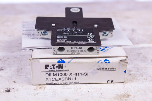 Eaton DIL M1000-XHI11-SI XTCEXSBN11 Auxiliary Contact Module