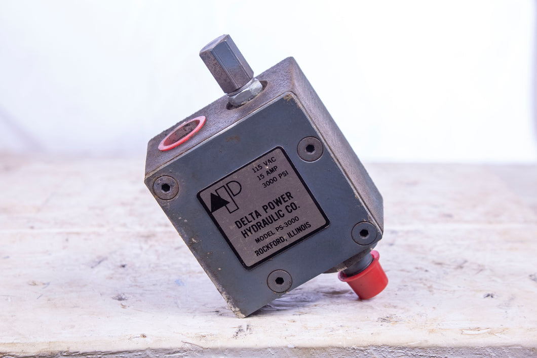 Delta Power Hydraulic Model PS-3000 Pressure Switch
