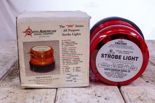 North American Signal Company ST500-ACR Red 120V