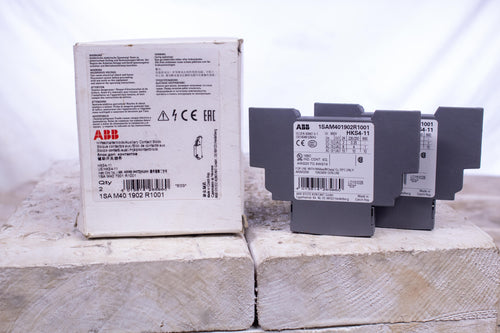 ABB Motor Protection Relays 1SAM401902R1001 AUXILIARY CONTACT BLOCK HKS4-11