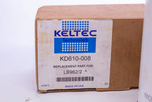 Load image into Gallery viewer, Keltec KD610-008 for LB962/2 Spin-On Separator Element