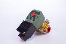 Load image into Gallery viewer, Asco Red Hat Valve JKF8210G094 120VAC Brass Solenoid Valve, Normally Closed, 1/2