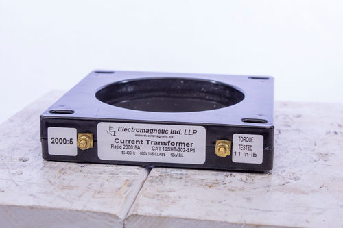 Electromagnetic INd. LLP Current Transformer 19SHT-202-SPI