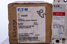Load image into Gallery viewer, Eaton EHD3030 Series C Industrial Circuit Breaker 30 Amp 480 Volt