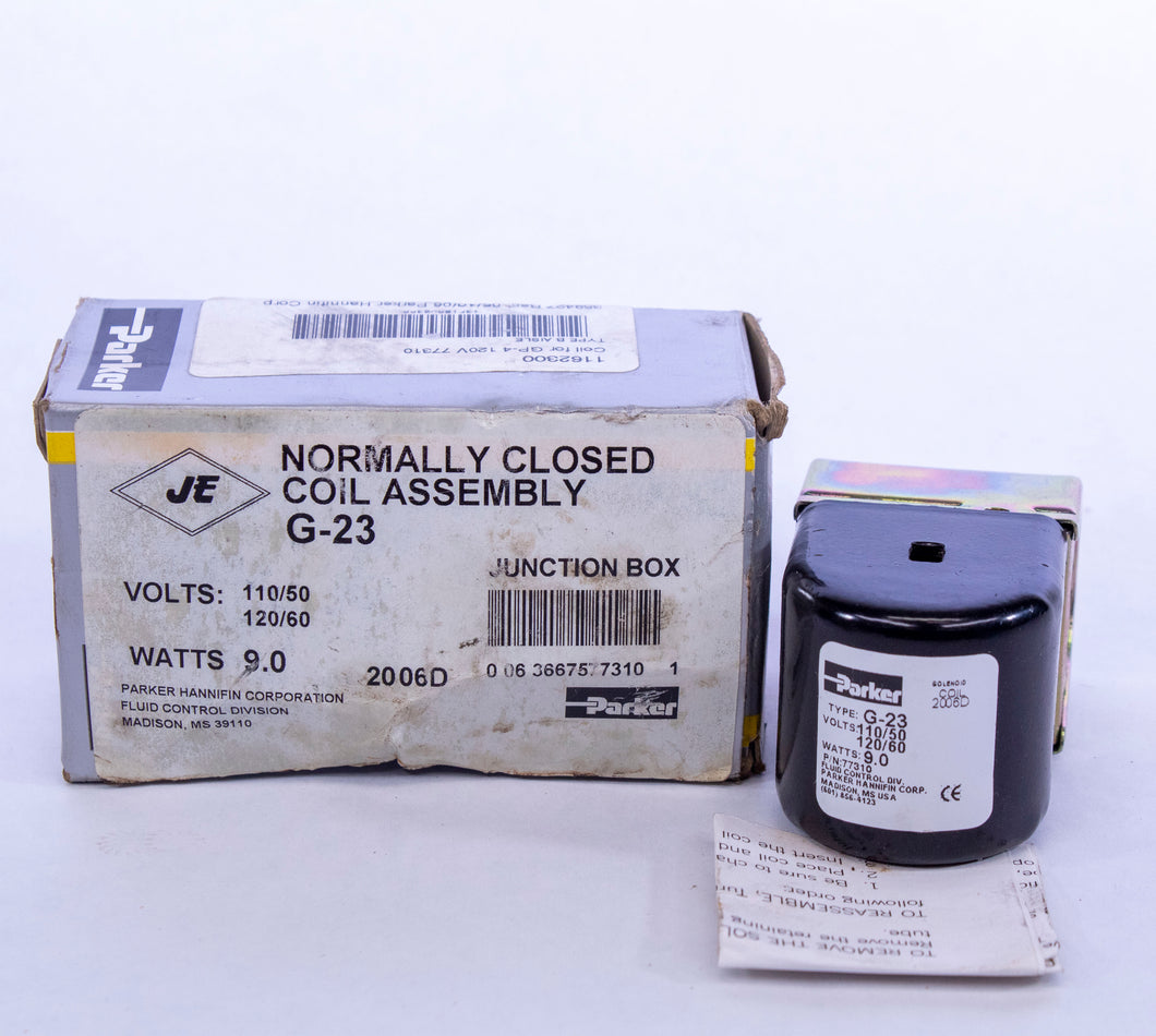 Parker Normally Closed Coil Assembly G-23