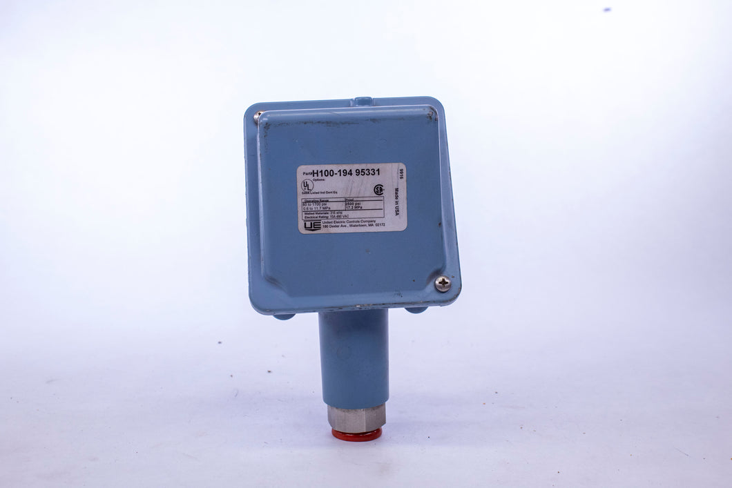 United Electric Controls H100-194 95331 Pressure Switch