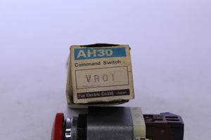 Fuji Command Switch AH30-VR01 Emergency Stop E-stop