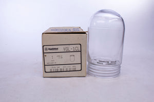 Appleton VGL-1CL Glass Globe For Threaded Light Fixture