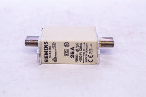 Siemens 3NA3 810 Fuse 500V, 25A - box of 9
