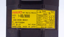 Load image into Gallery viewer, Fanuc A06B-0309-B001 AC Motor 1-OS/3000 with 2000P A290-0521-V541 Pulse Coder