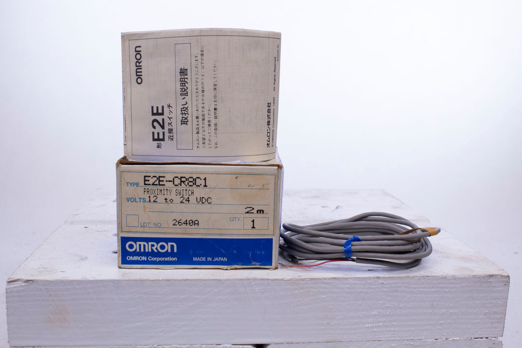 Omron E2E-CR8C1 Proximity Switch