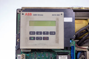 ABB Drives ACS 500 AC Drive Variable - FOR PARTS NOT TESTED