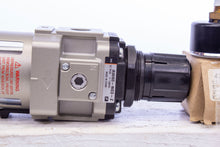 Load image into Gallery viewer, SMC AW40-N03-Z Filter Regulator Modulator with 4274866 Guage