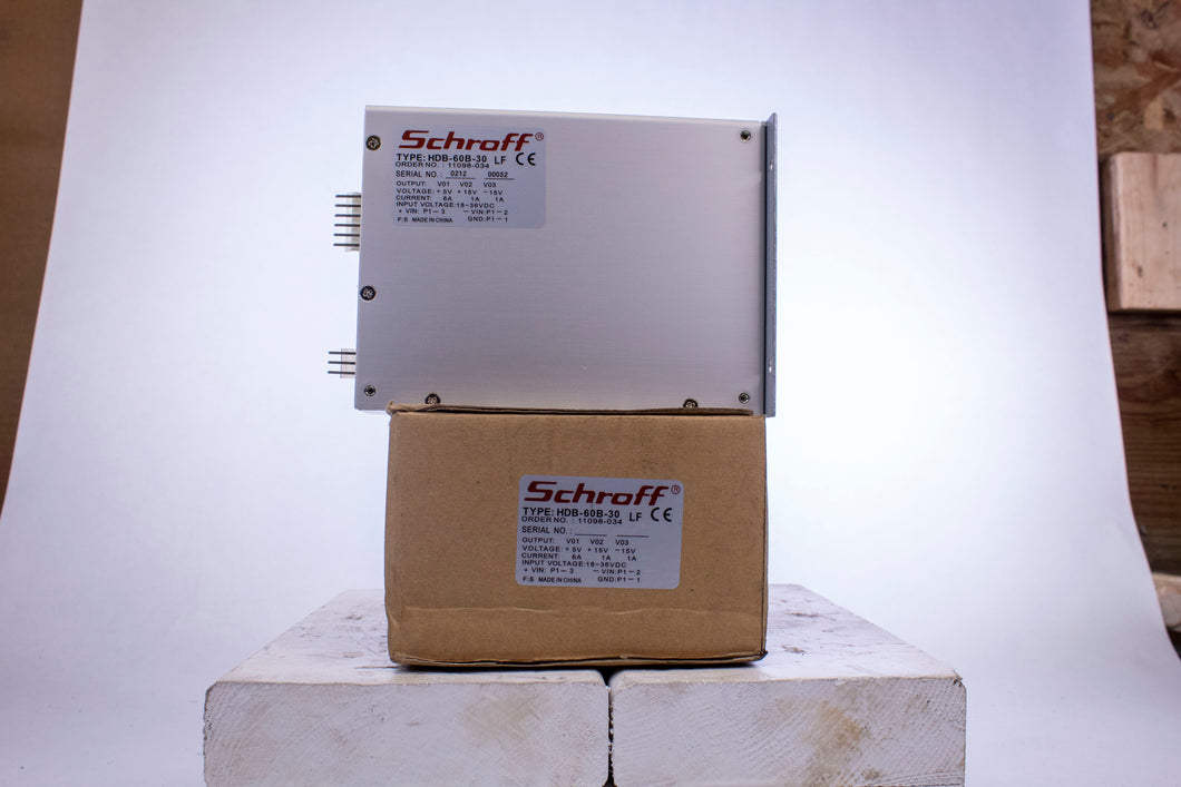 PENTAIR Schroff HDB-60B-30 HDB60B30 Power Supply