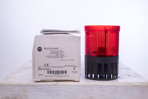 AB Allen Bradley 855T-B10DC4 Steady/Sound Red Light Series B