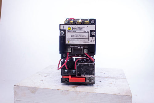 Square D 8536SCO3H20 ss120 with Motor Logic overload Relay  31041-400-60 coil