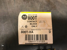 Load image into Gallery viewer, AB Allen Bradley Bulletin 800T-XA Series D Contact Block