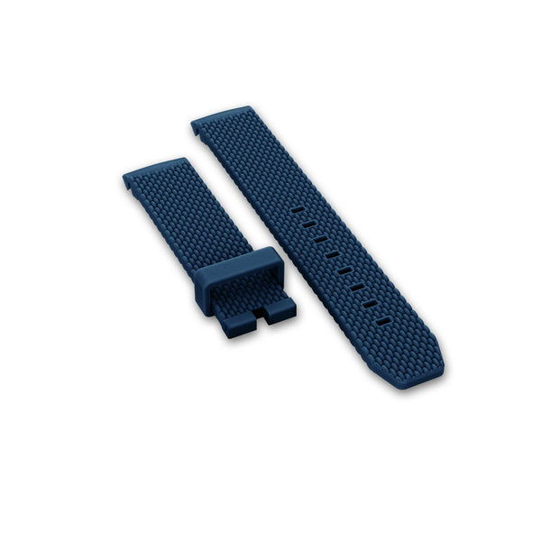 Rubber strap, Navy blue - DOXA Watches US