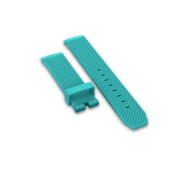 Rubber strap, Turquoise - DOXA Watches US