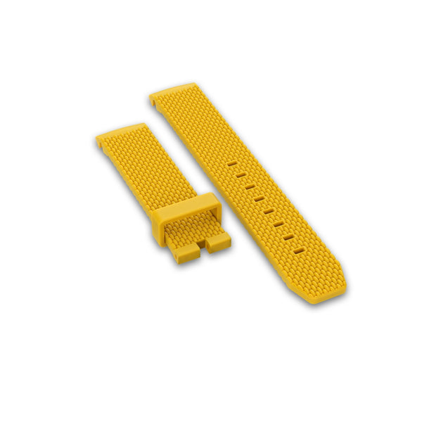 Rubber strap, Yellow - DOXA Watches US