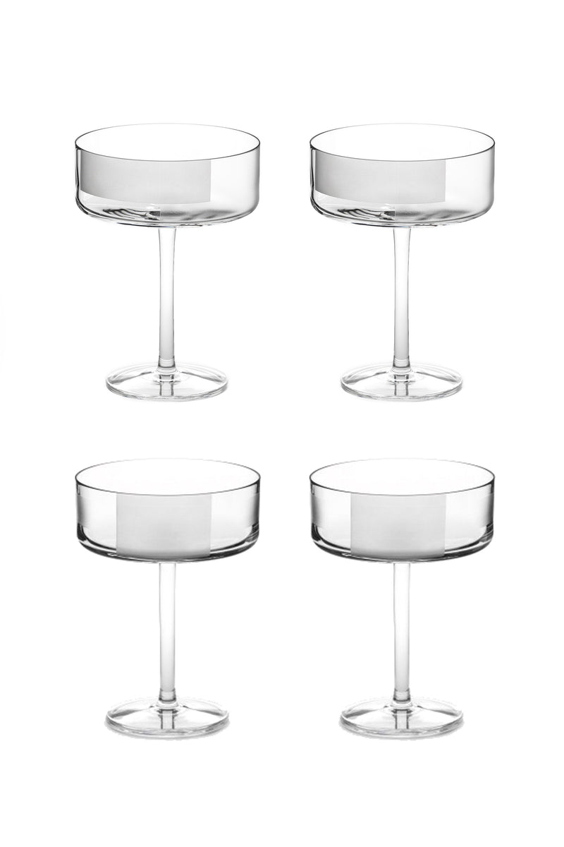 Cocktail Glass I & II (Set of 4)