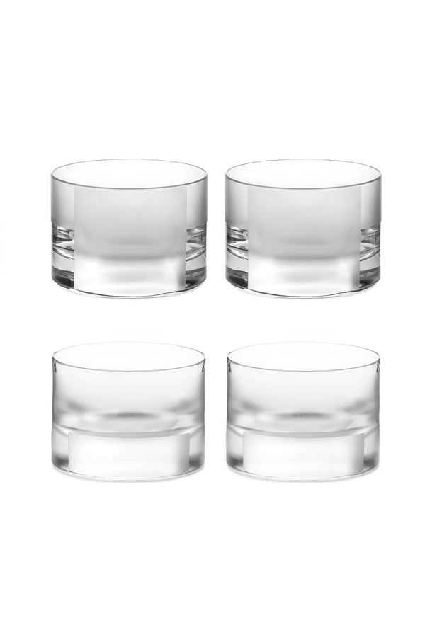 Low Glass I & II (Set of 4)