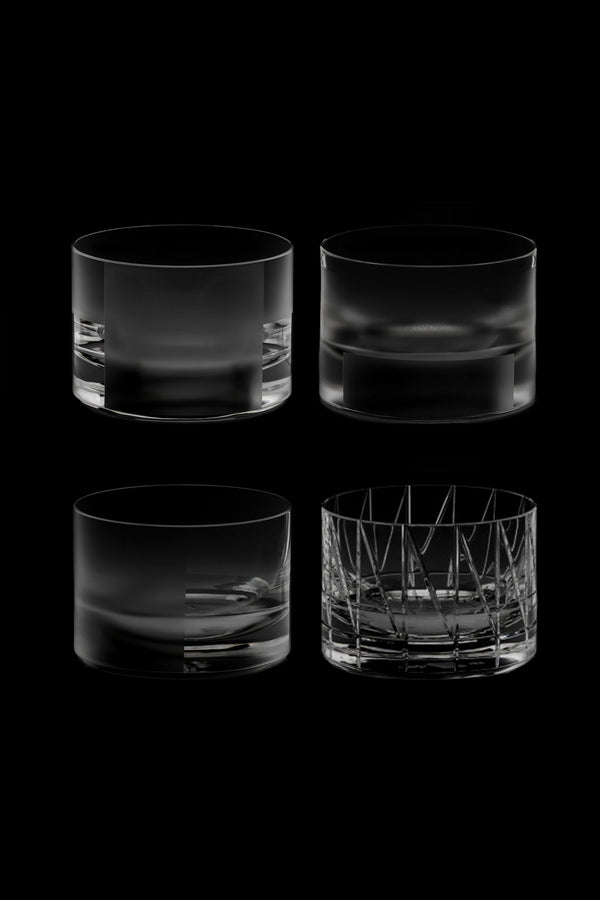 Low Glass I,II,III,IV (Set of 4)