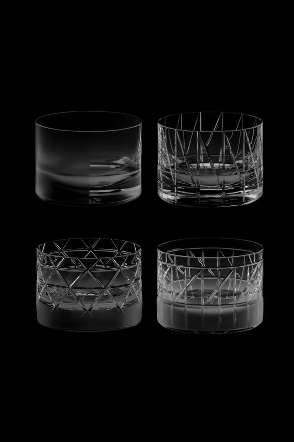 Low Glass III,IV,V,VI (Set of 4)