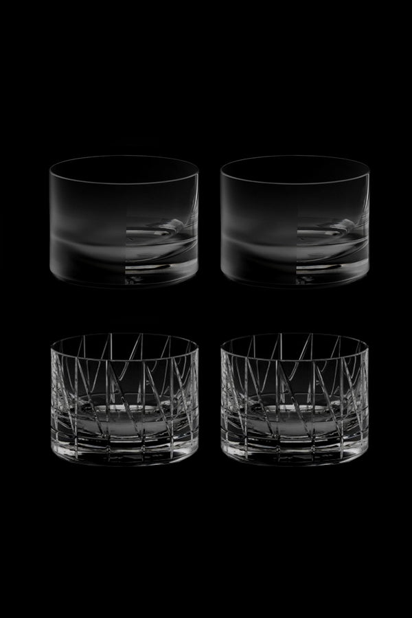 Low Glass III & IV (Set of 4)