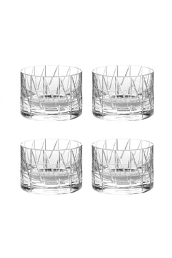 Low Glass IV (Set of 4)