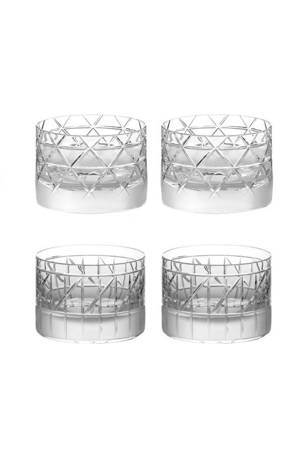 Low Glass V & VI (Set of 4)
