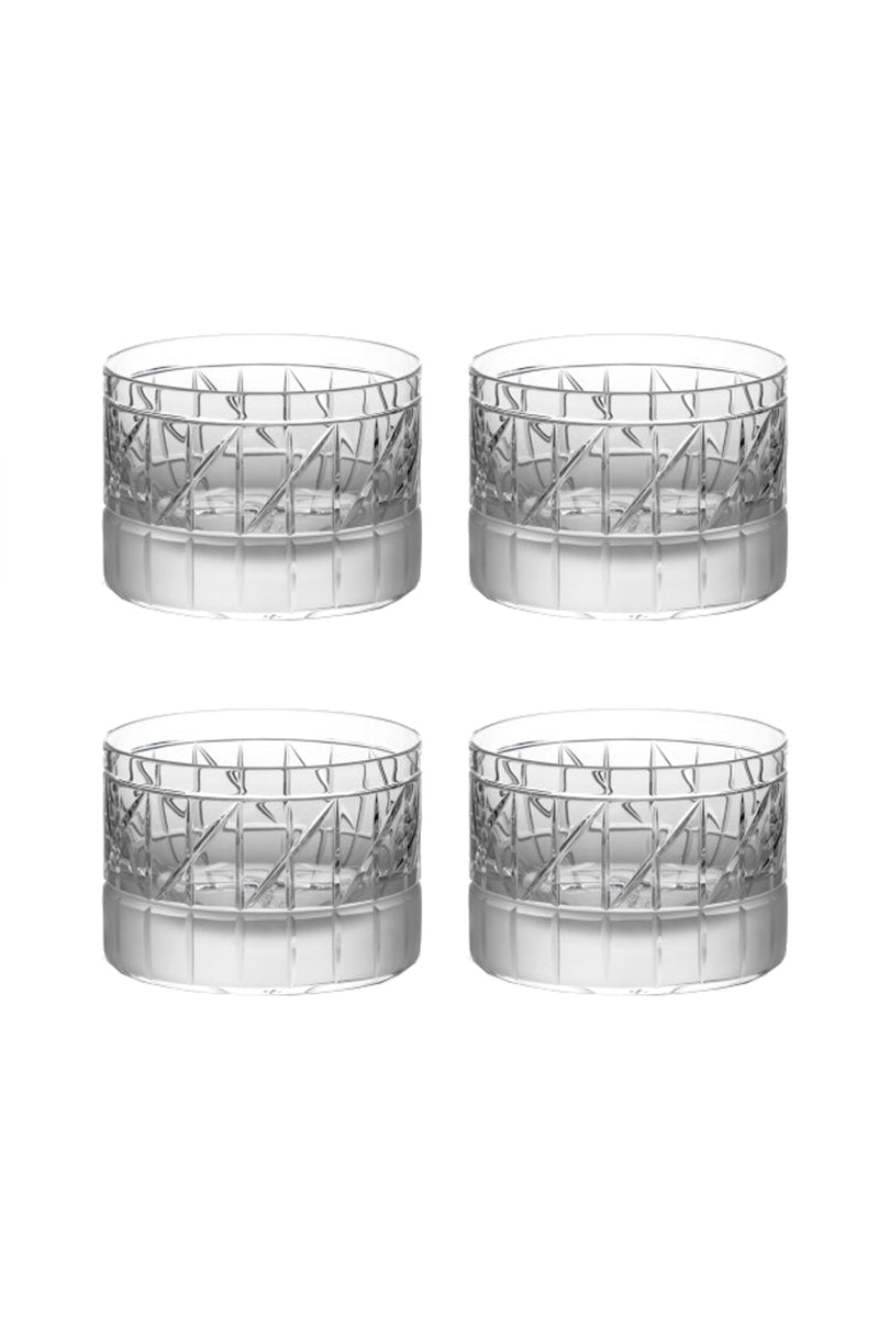 Low Glass VI (Set of 4)