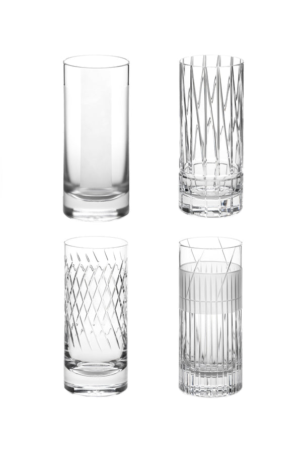 High Glass I,II,III,IV (Set of 4)