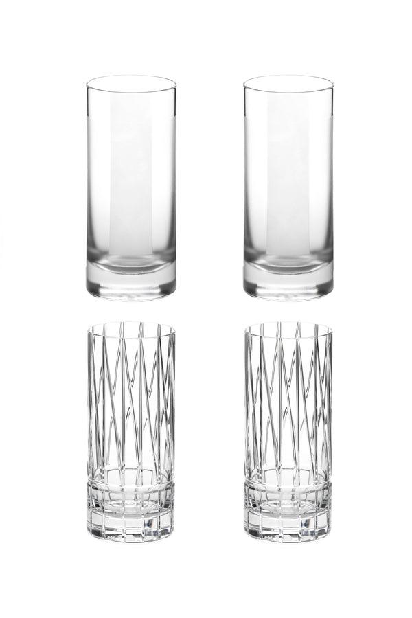 High Glass I & II (Set of 4)