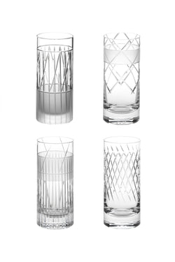 High Glass III,IV,V,VI (Set of 4)