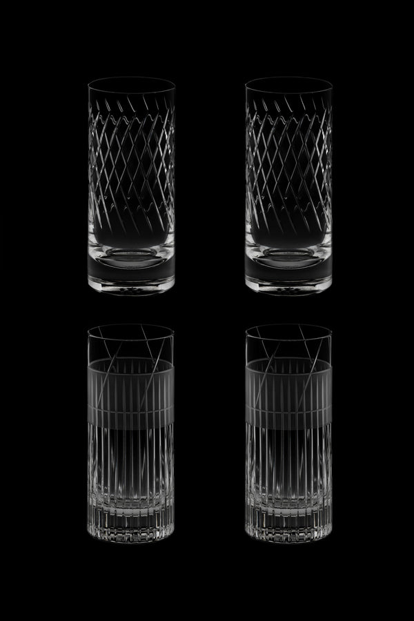 High Glass III & IV (Set of 4)