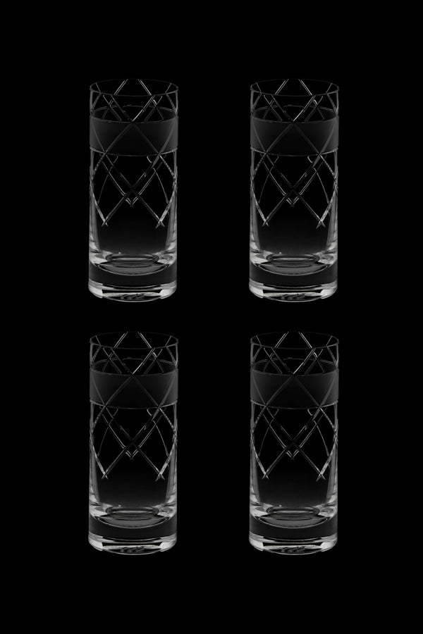 High Glass V (Set of 4)