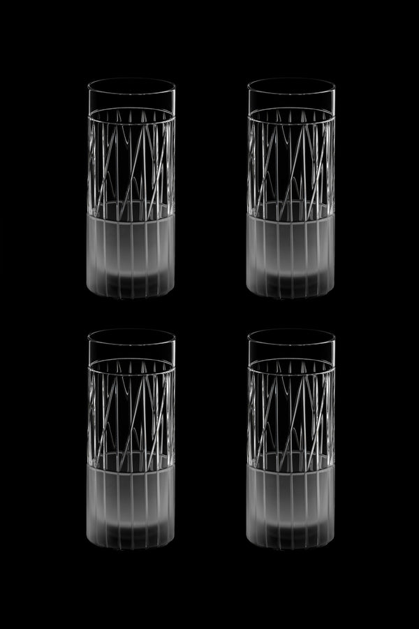 High Glass VI (Set of 4)