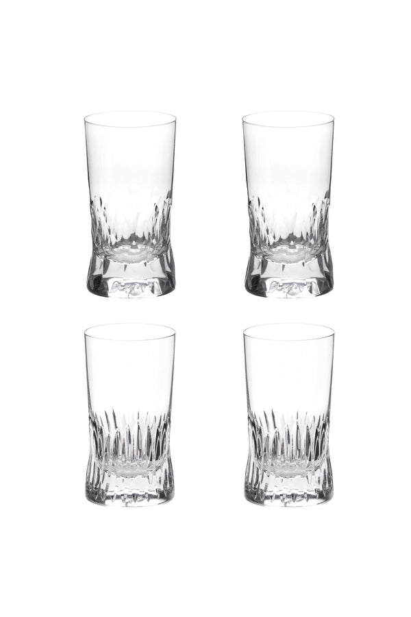 Large Tumbler Glass I & II (Set of 4)