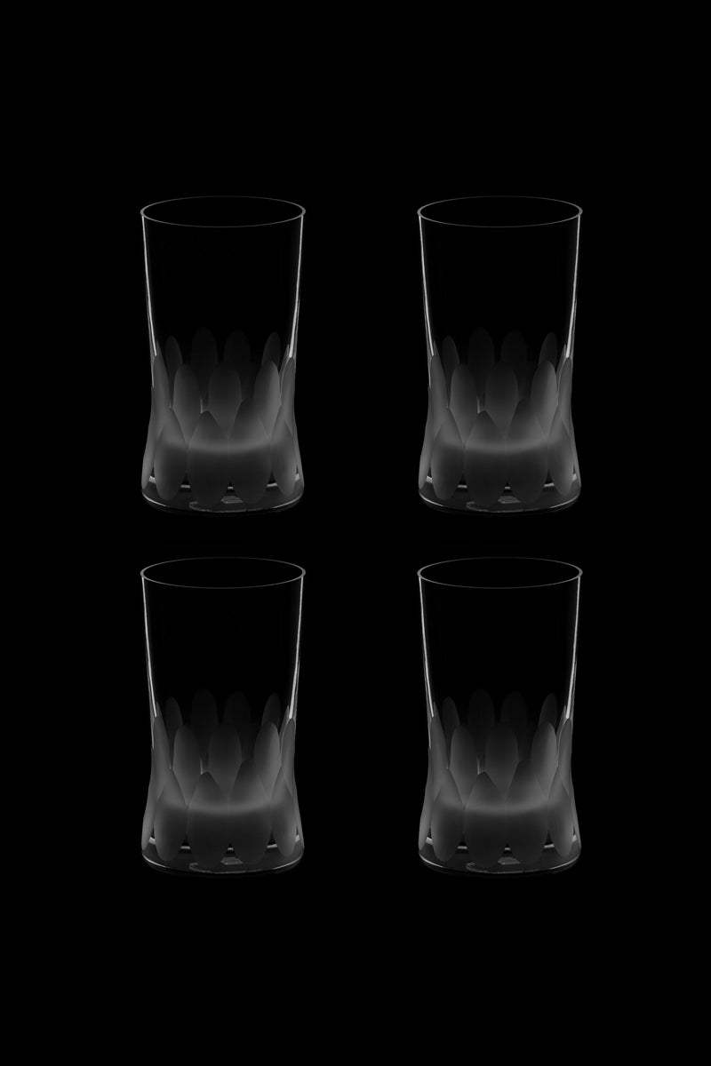 Large Tumbler Glass IV (Set of 4)