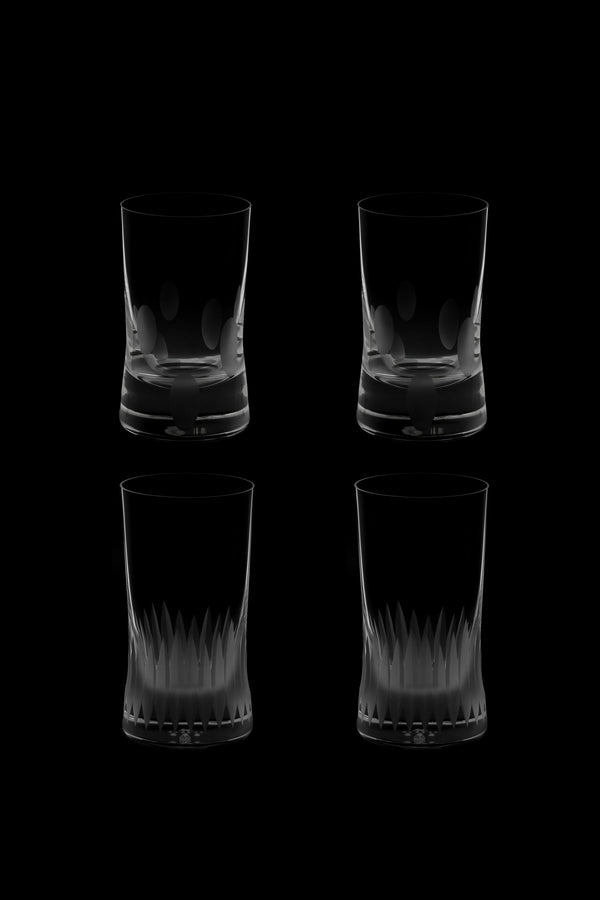 Large Tumbler Glass V & VI (Set of 4)