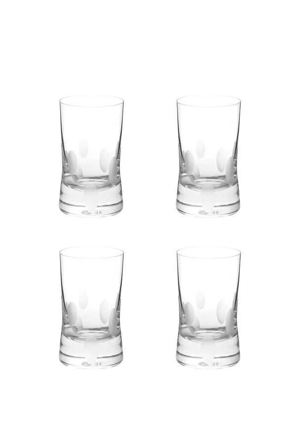 Large Tumbler Glass VI (Set of 4)