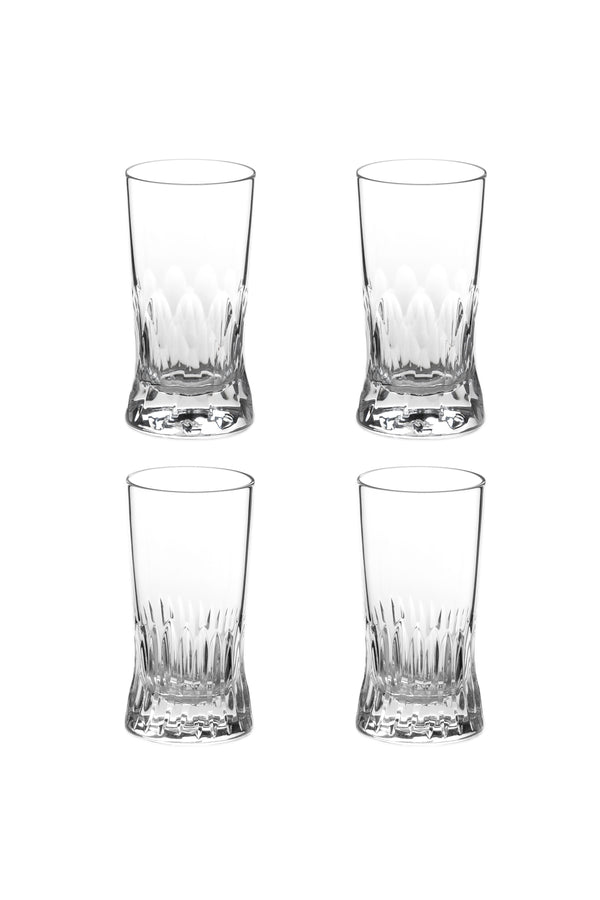 Small Glass I & II (Set of 4)