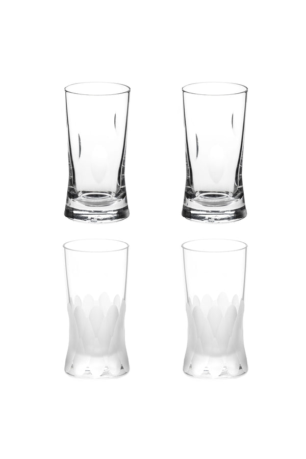 Small Glass III & IV (Set of 4)