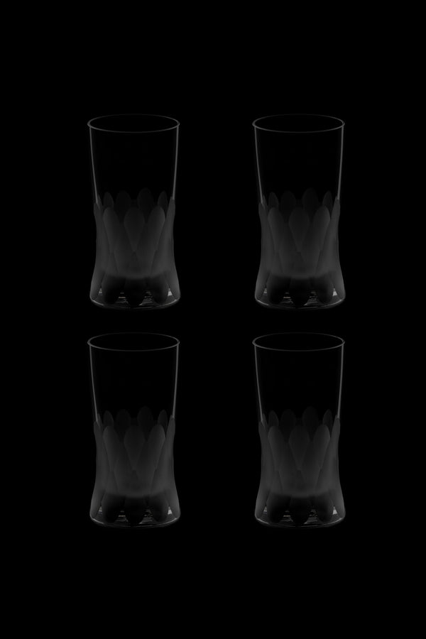 Small Glass IV (Set of 4)