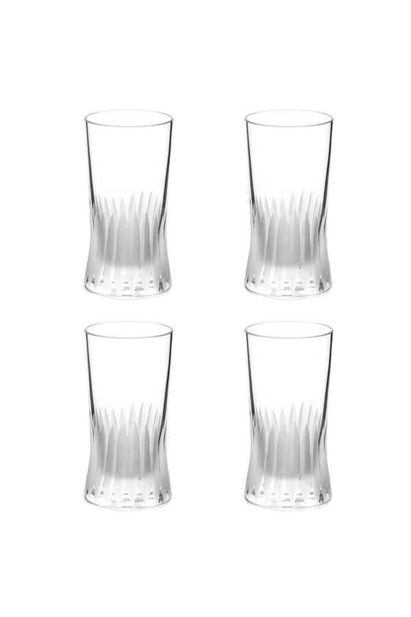 Small Glass V (Set of 4)