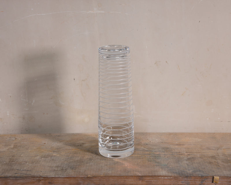 HAND DRAWN GLASS Decanter